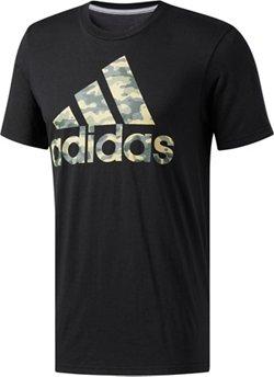 adidas Men's BOS Camo Logo T-shirt