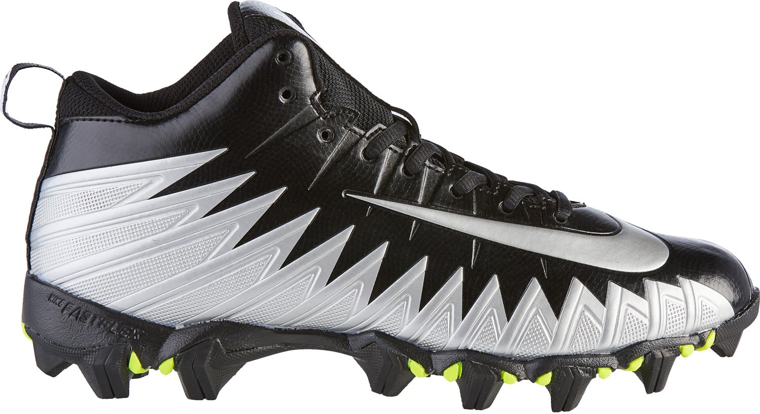 c97b2f5ab7a Nike Men s Alpha Menace Shark 2E Wide Football Cleats