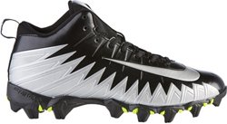 Men's Alpha Menace Shark 2E Wide Football Cleats
