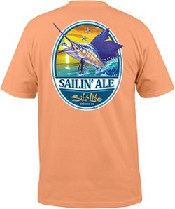 Salt Life Men's Sailing Ale Pocket T-shirt