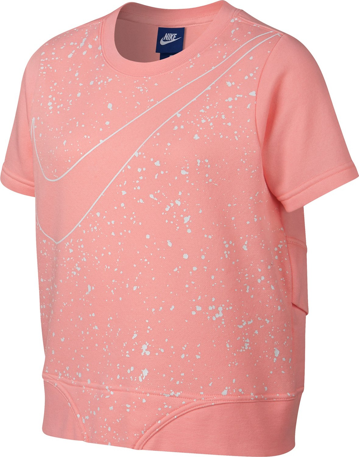 Display product reviews for Nike Girls' GFX Crew Top