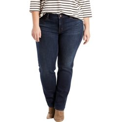 Women's 414 Plus Size Classic Straight Fit Jeans