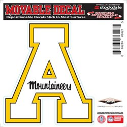 "Stockdale Appalachian State University 6"" X 6"" Single Logo Decal"