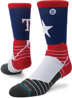 Stance Texas Rangers Diamond Pro Crew Socks