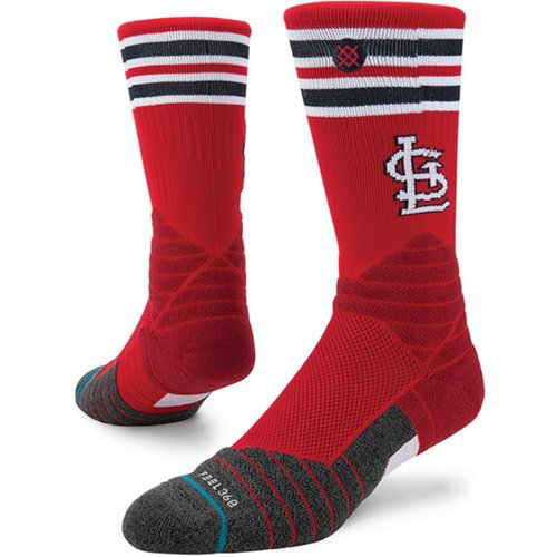 Stance St. Louis Cardinals Diamond Pro Crew Socks