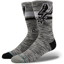 6a5b38e73f3 Stance San Antonio Spurs Melange Crew Socks