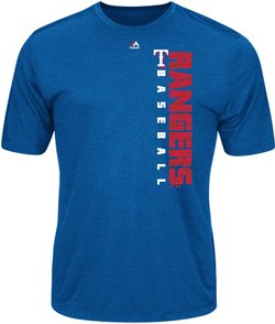Majestic Men's Texas Rangers Winning Commitment T-shirt