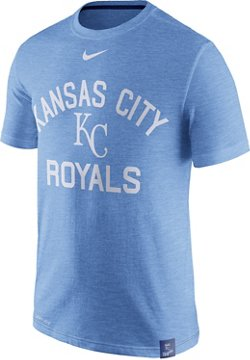 Nike Men's Kansas City Royals Dri-FIT Slub Arch Logo T-shirt