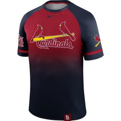 Men's St. Louis Cardinals Wordmark Legend Raglan Jersey T-shirt