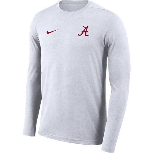 Nike Men's University of Alabama Dry Coaches Long Sleeve T-shirt