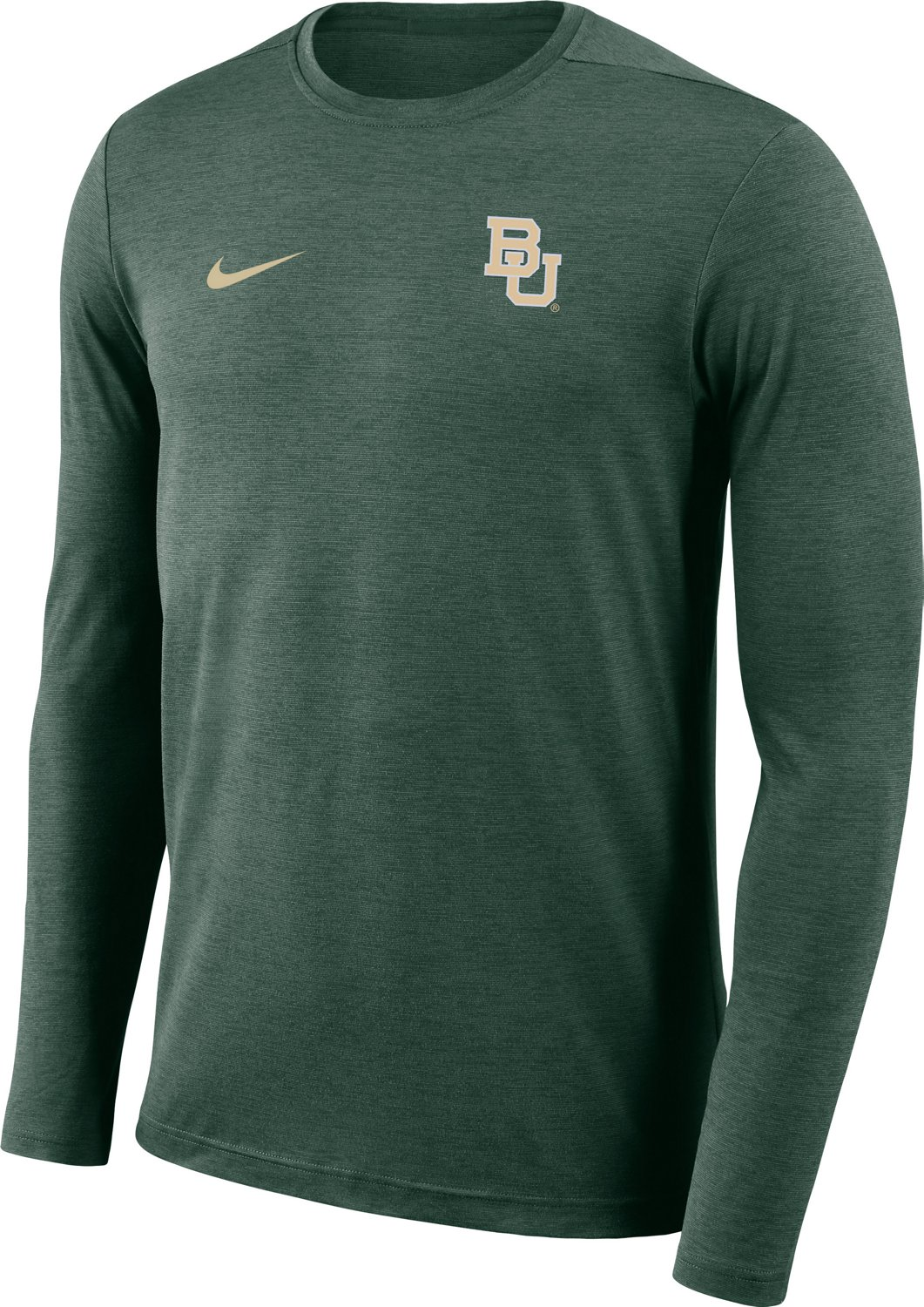 Nike Men's Baylor  University Dri-Fit Coaches T-Shirt