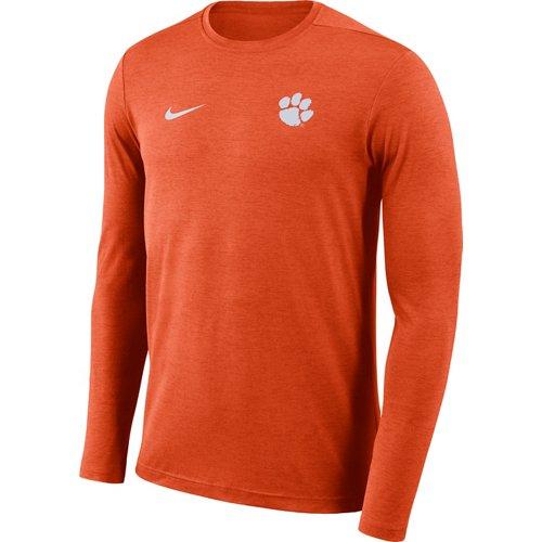 Nike Men's Clemson University Dry Coaches Long Sleeve T-shirt