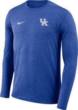 Nike Men's University of Kentucky Dry Coaches Long Sleeve T-shirt