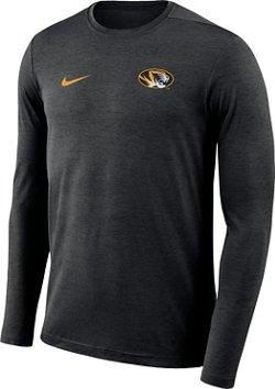 Nike Men's University of Missouri Dry Coaches Long Sleeve T-shirt