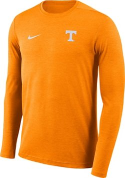 Nike Men's University of Tennessee Dry Coaches Long Sleeve T-shirt