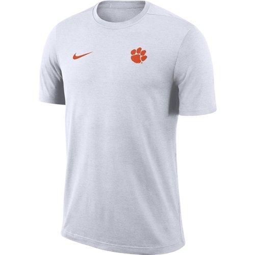 Nike Men's Clemson University Dry Coaches Short Sleeve T-shirt