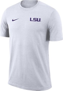 Nike Men's Louisiana State University Dry Coaches Short Sleeve T-shirt