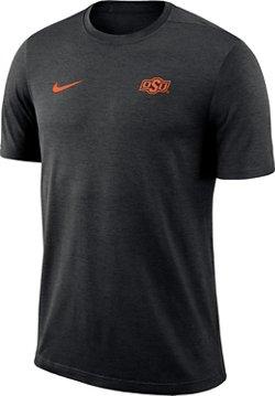Nike Men's Oklahoma State University Coaches Dri-Fit T-Shirt