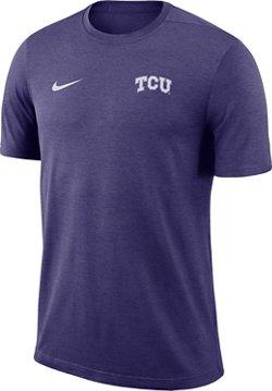 Nike Men's Texas Christian University Dry Coaches Short Sleeve T-shirt