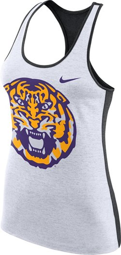 Nike Women's Louisiana State University Dri-FIT Touch Tank Top