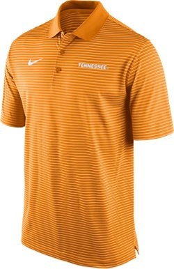 Nike Men's University of Tennessee Stadium Striped Perf Polo Shirt