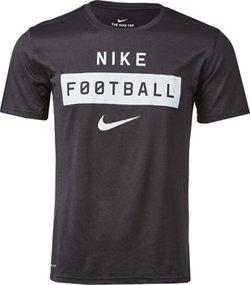 Nike Men's Legends Football Wordmark Dry T-shirt