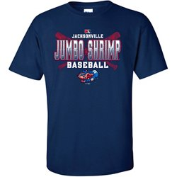 Men's Jacksonville Jumbo Shrimp Coyote T-shirt