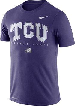 Nike Men's Texas Christian University Dry Facility T-shirt