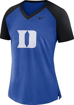 Nike Women's Duke University Fan V-Neck T-Shirt