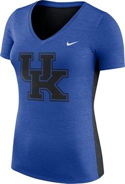 Nike Women's University of Kentucky Dri-FIT Touch V-neck T-shirt