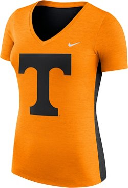 Nike Women's University of Tennessee Dri-FIT Touch V-neck T-shirt