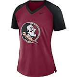 719ca36c Nike Women's Florida State University Fan V-neck Top