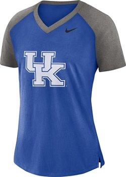 Nike Women's University of Kentucky Fan V-neck Top