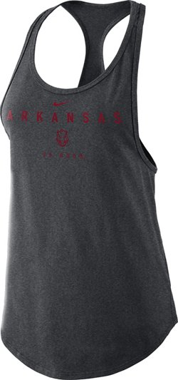 Nike Women's University of Arkansas Gym Tank Top