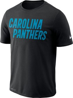 Nike Men's Carolina Panthers Essential Wordmark T-Shirt