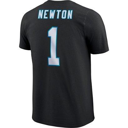 Nike Men s Carolina Panthers Cam Newton Name   Number T-Shirt  3bbc19dd81