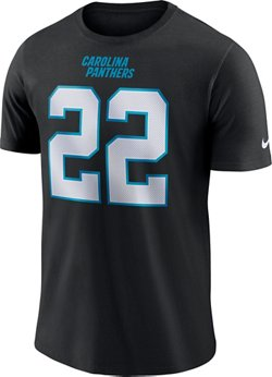Nike Men's Carolina Panthers Christian McCaffery Name and  Number T-Shirt