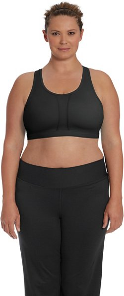 Champion Women's Vented Moderate Support Plus Size Sports Bra