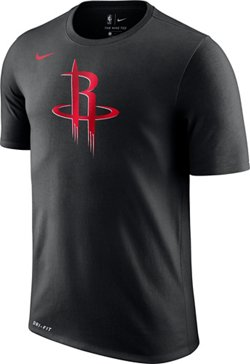 Nike Men's Houston Rockets Dry Logo T-shirt