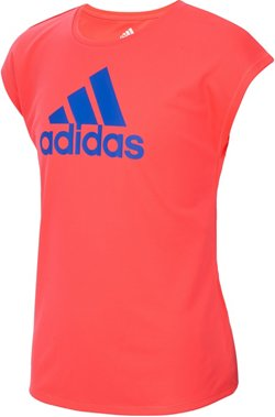 adidas Girls' climalite Graphic Short Sleeve T-shirt