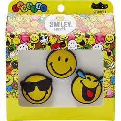 Smiley Brand Cool Jibbitz 3-Pack