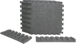 BCG Shock Athletic Interlocking Carpet Tiles 6-Pack