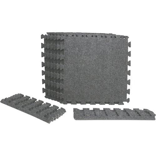 BCG Shock Athletic Interlocking Carpet Tiles 6-Pack