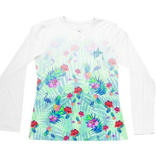 Guy Harvey Women's Tropical Dream Performance UVX T-shirt