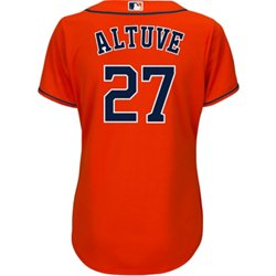 Women's Houston Astros Jose Altuve 27 COOL BASE Jersey