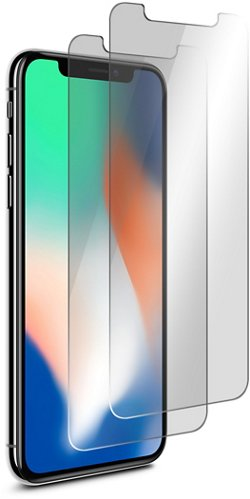 iHome iPhone X Antiglare Screen Protectors 2-Pack