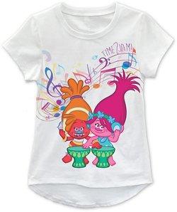 Extreme Concepts Toddler Girls' Trolls T-shirt