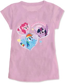 My Little Pony Toddler Girls' Besties T-shirt