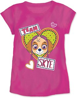 PAW Patrol Toddler Girls' Team Skye T-shirt