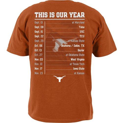 We Are Texas Men's University of Texas 2018 Schedule T-shirt